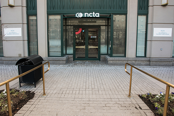 NCTA's Private Entrance