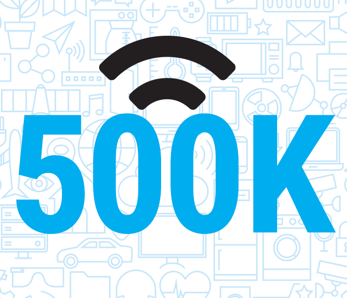 Out of home Wi-Fi hotspots reach 500,000