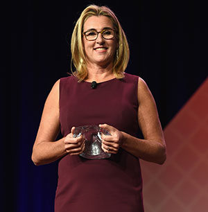 Pictured: Nancy Dubuc, President & CEO of A+E Networks