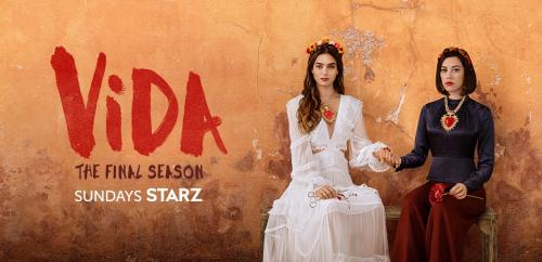 The official trailer image for Season 3 of Starz' Vida.