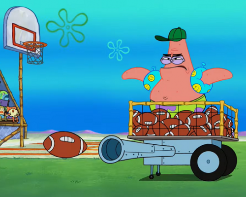 Nickelodeon and SpongeBob and NFL Wild Card Game